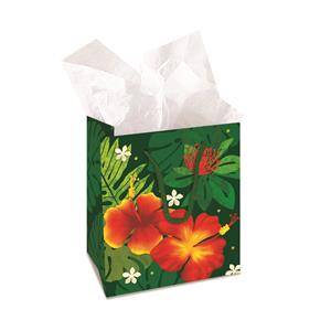 Small Gift Bag, Floral Monstera