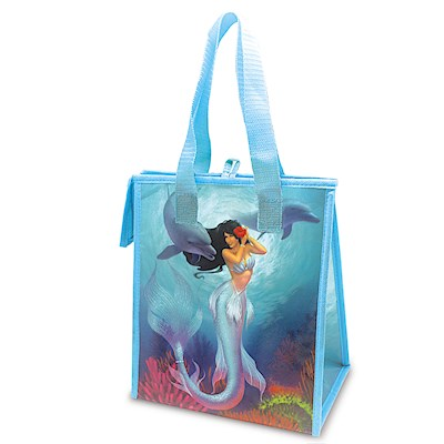 Insulated Lunch Bags, Island Heritage Mermaids Jewel/Sunny