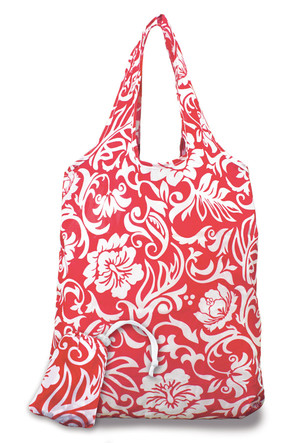 Foldable Tote, Pareo Hibiscus