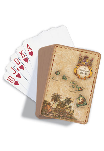 Playing Cards The Hawaiian Islands