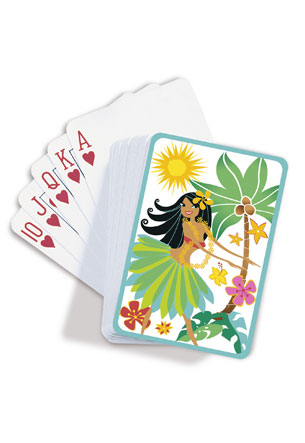 Playing Cards Island Hula Honeys