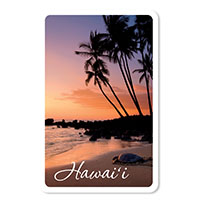 Playing Cards Honu Sunset