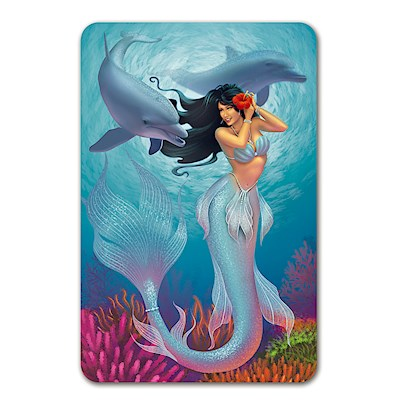 Playing Cards Island Mermaids Jewel