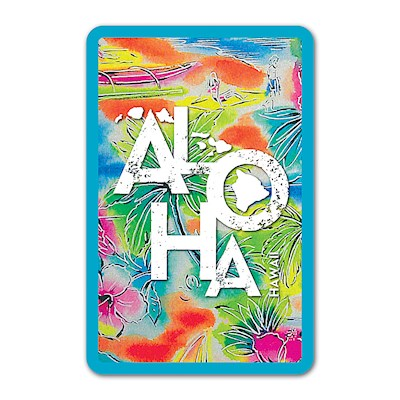 Playing Cards Tropical Aloha