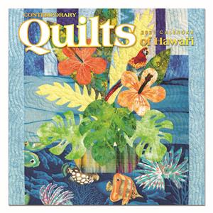 Contemporary Quilts of Hawai'i 2021 Deluxe Calendar