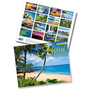 Maui, The Valley Isle 2021 Trade Calendar