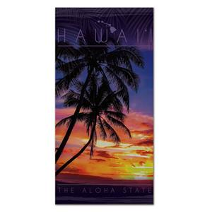 Beach Towel, Hawaii Sunset