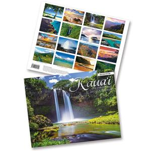 Kaua'i, The Garden Isle 2021 Trade Calendar