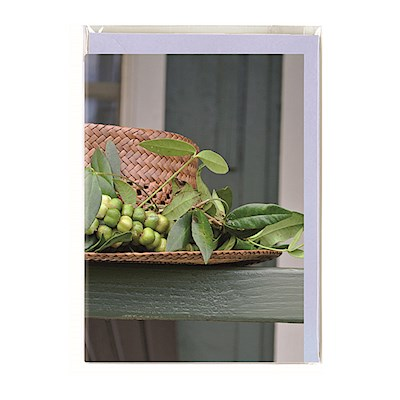 Kauai Greeting Card, Lei of the Hawaiian Islands