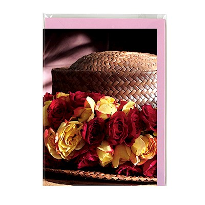 Maui Greeting Card, Lei of the Hawaiian Islands