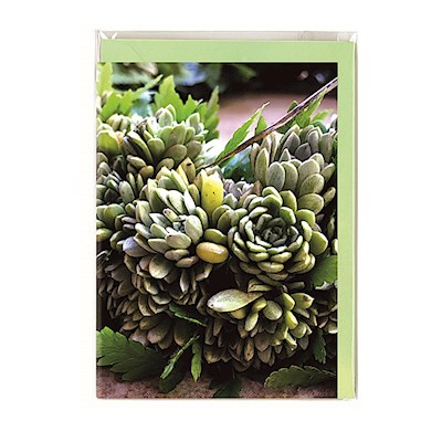 Molokai Greeting Card, Lei of the Hawaiian Islands