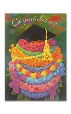 Designer Art Greeting Card, Loads of Lei
