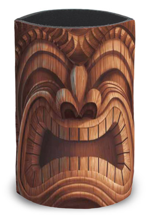 Island Can Cooler Happy Tiki