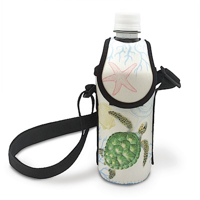 Bottle Cooler with Strap - Honu Voyage