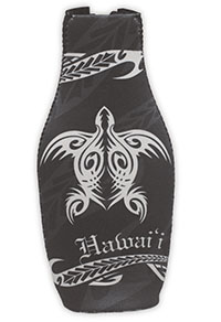 Island Bottle Cooler Tribal Honu