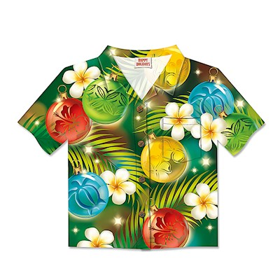 8-ct Box Aloha Shirt, Ornaments of the Islands