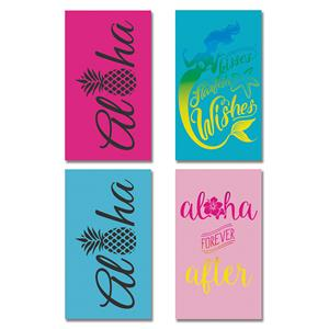 Oversized Beach Towel, Set of 4
