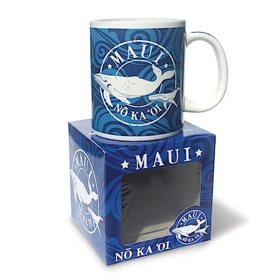 10 oz. Boxed Mug, Maui No Ka Oi