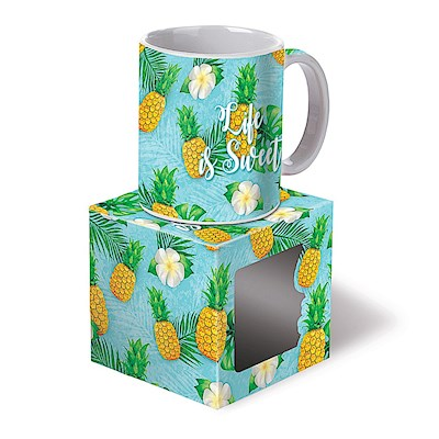 Life is Sweet 10oz. Boxed Mug