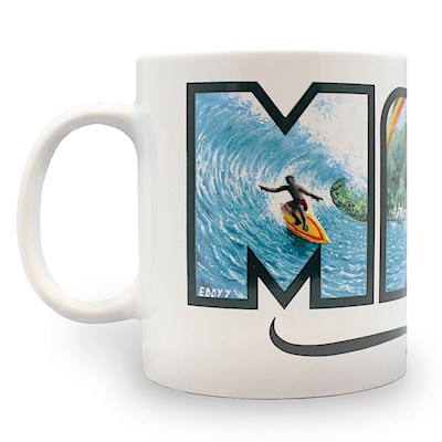 14 oz. Eddy Y Mug, Maui - Hawaii