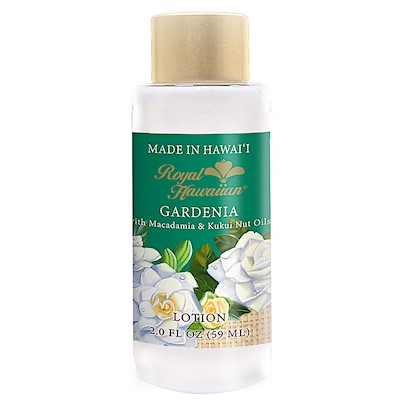 Gardenia 2oz. Royal Hawaiian Body Lotion