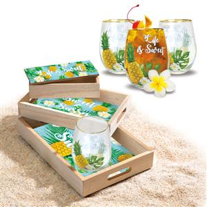 Life is Sweet Coastal Collection Set