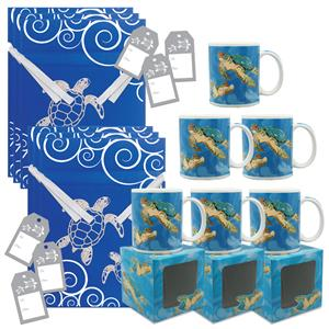 Tropical Turtles Mug Gift Kit