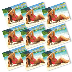 2021 Trade Calendar, Beautiful Women of Hawaii  (Case of 36)