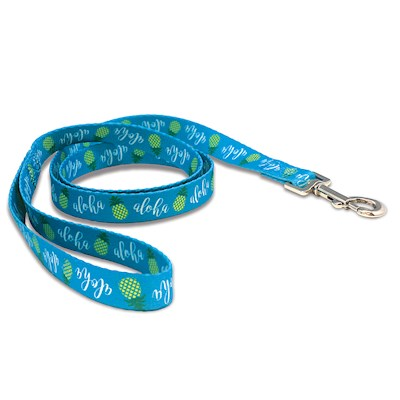 Pet Leash, Pineapple Aloha - L