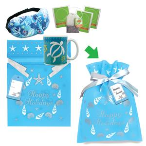Honu Floral Mug & Eye Mask Gift Kits