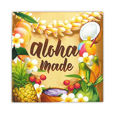 Wall Art Canvas Print - Aloha Made