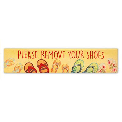 Please Remove Your Shoes Wall Art Prints