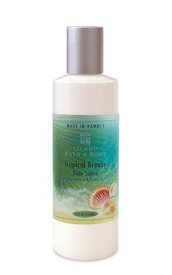 8 oz Island Bath & Body Lotion Tropical Breeze - Classic