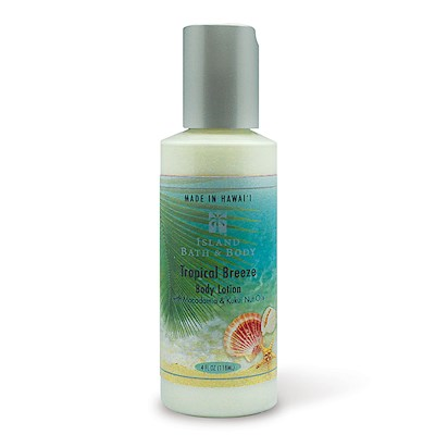 4 oz Island Bath & Body Lotion Tropical Breeze - Classic