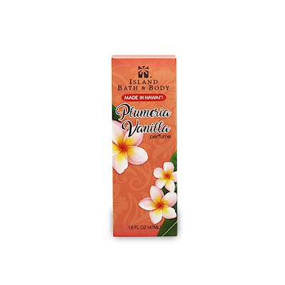 1.6 oz Island Bath & Body Perfume Plumeria Vanilla - Contemporary