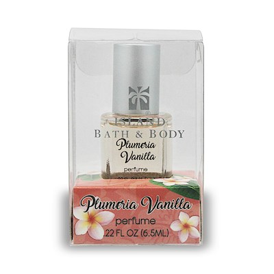 .22 oz Island Bath & Body Perfume Plumeria Vanilla - Contemporary