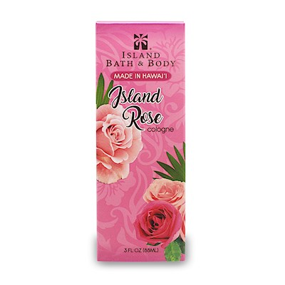 Contemporary Island Bath & Body Cologne Island Rose 3 oz