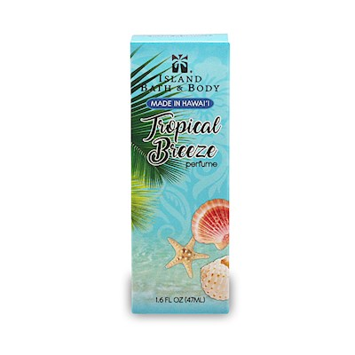 1.6 oz Island Bath & Body Perfume Tropical Breeze - Contemporary