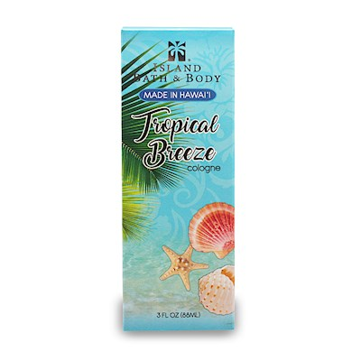 3 oz Island Bath & Body Cologne Tropical Breeze - Contemporary