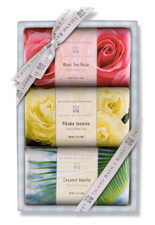 3 pack French Milled Soap Gift Set