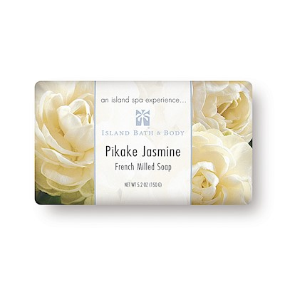 Pikake Jasmine 150g French Milled Soap (Classic Packaging)