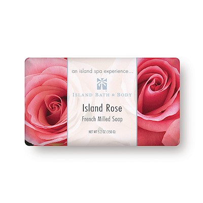 Island Rose 150g French Milled Soap (Classic Packaging)