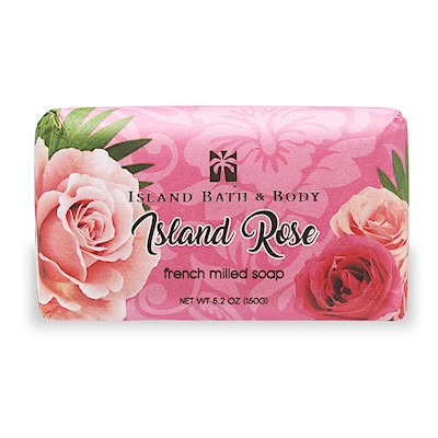 Island Rose 150g  French Milled Soap