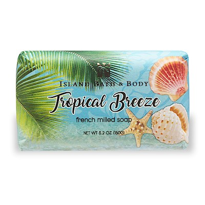 150g French Milled Soap, Tropical Breeze CON