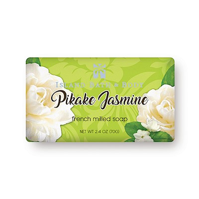 Pikake Jasmine 70g French Milled Soap