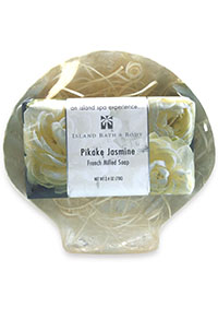 Gift Set 70g French Milled Soap - Pikake Jasmine