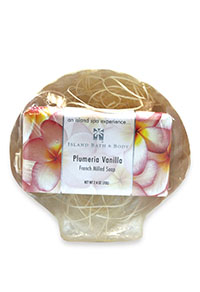 Gift Set 70g French Milled Soap - Plumeria Vanilla