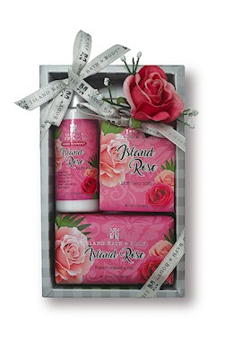 Contemporary Island Bath & Body Gift Set 2 oz.- Island Rose