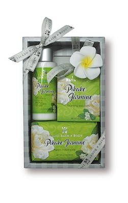 Contemporary Island Bath & Body Gift Set 2 oz.- Pikake Jasmine