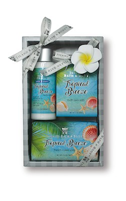 Contemporary Island Bath & Body Gift Set 2 oz.- Tropical Breeze